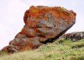Roccia con licheni Vallone dell'Arma