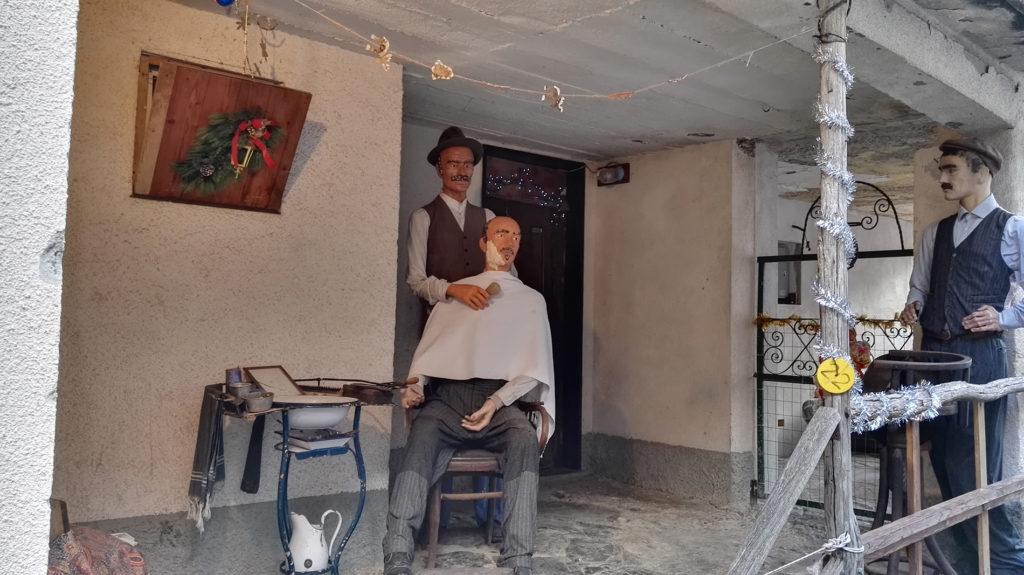Barbiere - Presepe di Pentema