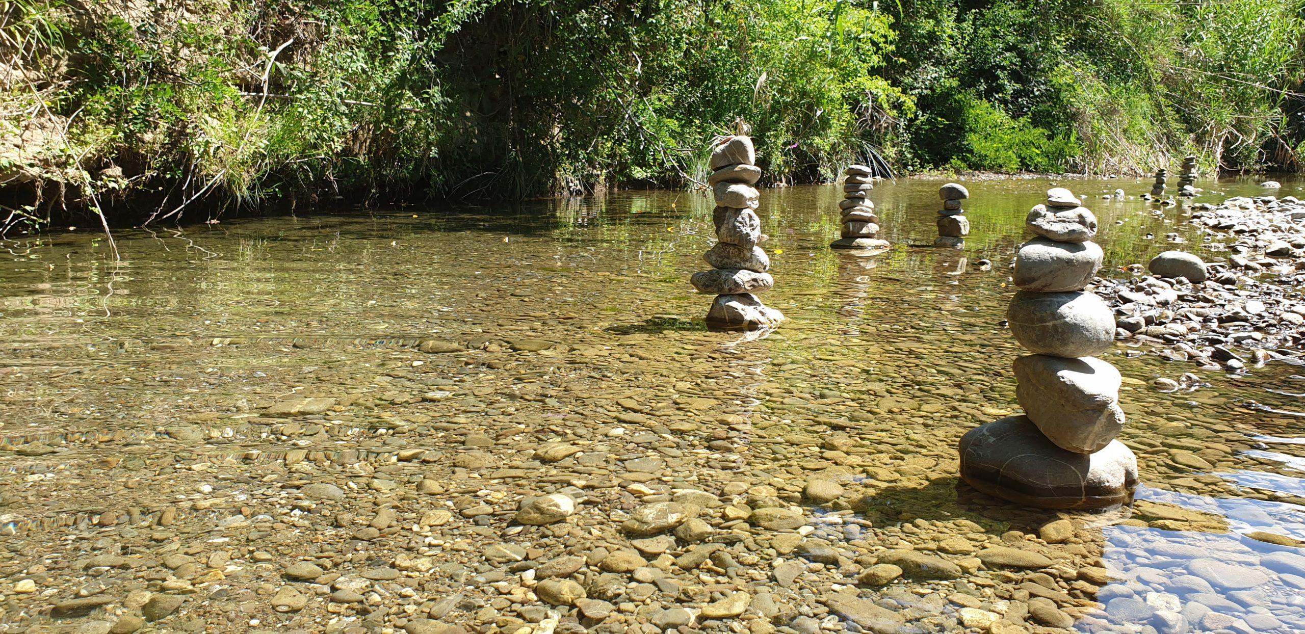 Fiume cornia acqua limpida del Pozzo di Serraiola