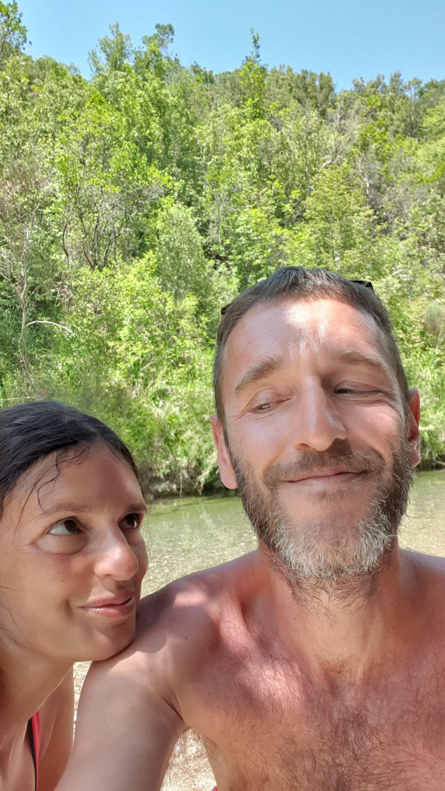 Sulle rive del Cornia al pozzo di Serraiola