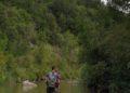 percorrere il fiume Cornia a piedi
