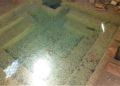 Acqua vasca le Terme abbandonate di San Michele alle Formiche